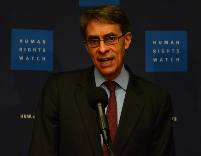 Human Rights Watch Executive Director Kenneth Roth said Thursday the rise of populism in the United States and Europe will reinforce and encourage authoritarian leaders around the world. Photo by Maryam Saleh/Medill News Service