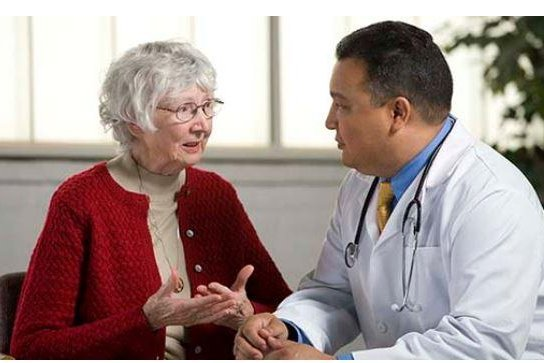 Researchers in Finland found opioid analgesics reduced the use of antipsychotics and benzodiazepines to treat patients with Alzheimer's disease. Photo courtesy of National Institute on Aging