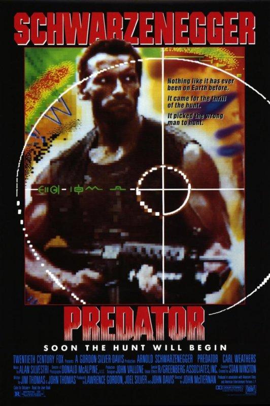 Arnold Schwarzenegger in the original 'Predator' (1987). (20th Century Fox)