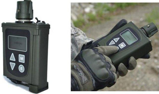A handheld chemical detection device from Smiths Detection Inc. Photo courtesy SDI