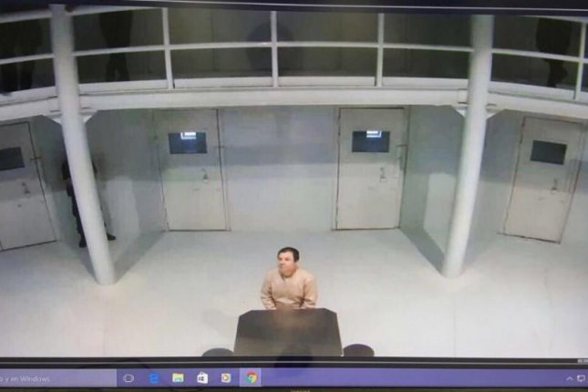 On Friday, Mexican Secretary of Interior Miguel Angel Osorio posted an image of who seems to be drug lord Joaquin El Chapo Guzman sitting alone in prison. One of Guzman's lawyers on Monday slammed Osorio's actions. Photo courtesy of Mexican Secretary of Interior Miguel Angel Osorio