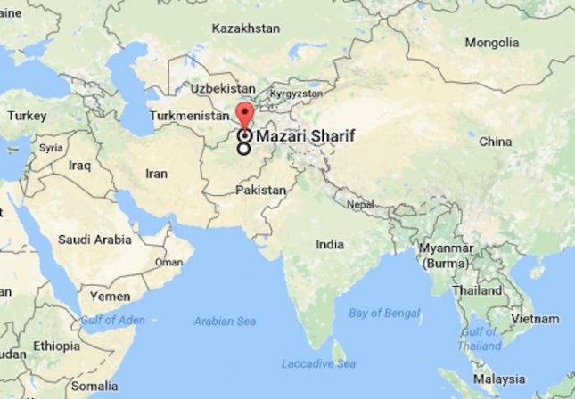 nato led resolute support said us soldiers were wounded in an attack at camp shaheen in mazar e sharif afghanistan at 2 pm on saturday