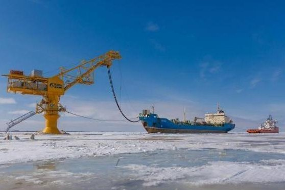 The Russian oil company Rosneft said there are a number of promising oil basins in the country's Arctic territory. Photo courtesy of Gazprom Neft