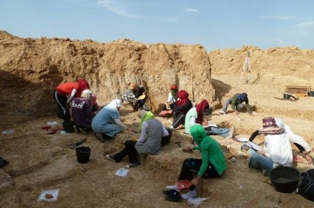 Researchers recovered human-made stone artifacts in Algeria