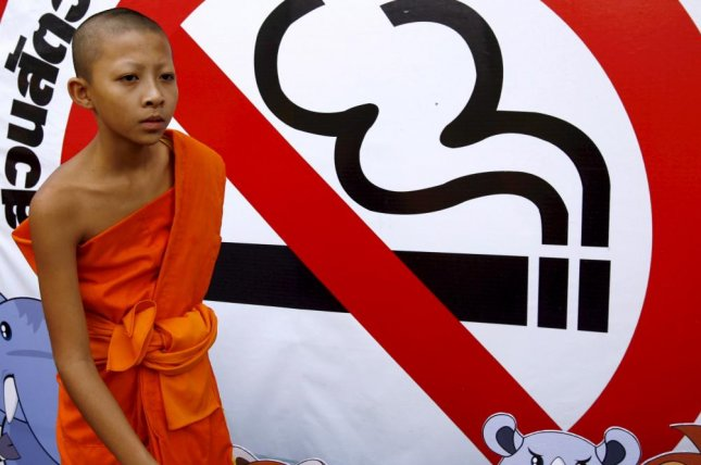 Thailand is increasing restrictions against smoking in both private and public spaces. File Photo by Rungroj Yongrit/EPA