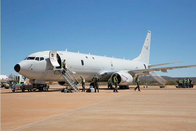 An Australian P-8A Poseidon aircraft was deployed to Japan back in the spring by the Australian Defense Ministry for involvement in enforcement of sanctions against North Korea. File Photo by Cpl. Craig Barrett/Australian Defense Ministry/UPI