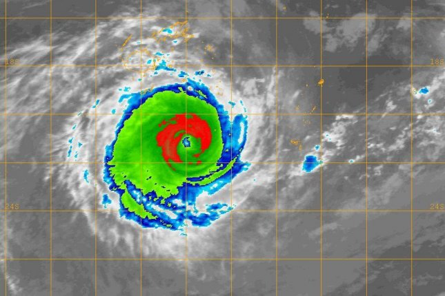 Tropical Cyclone Gita is expected to remain a Category 4 storm as it moves past Fijian waters. Photo courtesy of NaDraki Weather/Facebook