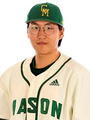George Mason University pitcher Sang Ho Baek died due to complications from Tommy John surgery, a teammate says. Photo courtesy George Mason University