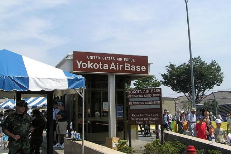 United States Air Force Yokota Air Base. (CC/Morio)