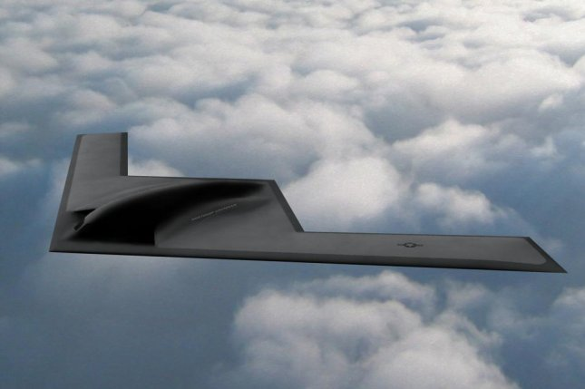 This is an artist's rendering of the Northrop Grumman B-21 Raider, which will be based at three locations in the United States. Photo courtesy of Northrop Grumman