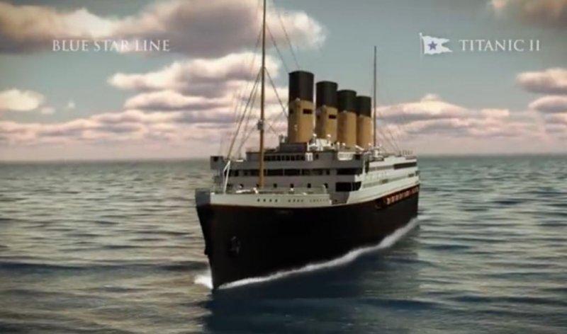 bcba2ca3 Titanic II's maiden voyage pushed back to 2018 - UPI.com