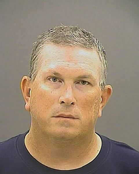 Baltimore police Officer Wesley Cagle was convicted Thursday of assault and firearms charges, and acquitted of attempted first- and second-degree murder charges, in the 2014 shooting of a suspect. Photo courtesy of Baltimore City Detention Center