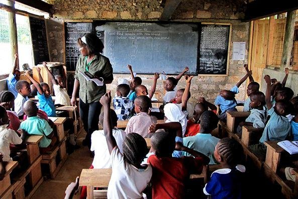 More than 100,000 students attend Bridge International Academies' more than 400 nursery and primary schools across emerging markets in Africa, including 12,000 students in Uganda. Photo by Bridge International Academies