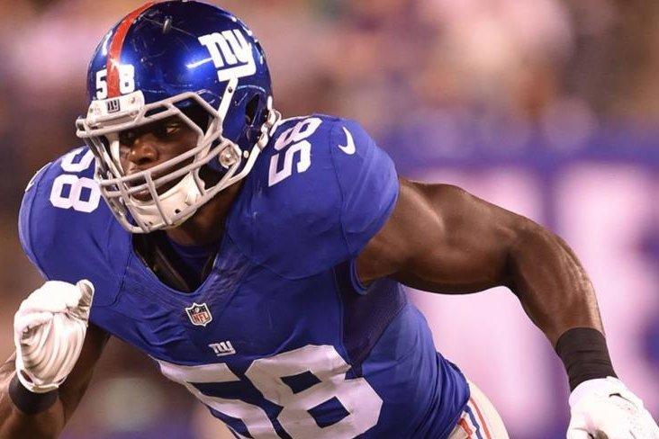 Young Giants DE Owa Odighizuwa Announces He's Walking Away From Football