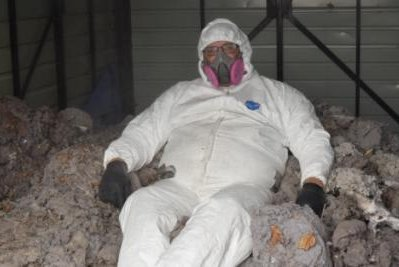 A Michigan company has been collecting dryer lint since April with an aim toward setting a Guinness World Record for the world's largest lint ball. Photo courtesy of Dryer Vent Wizard