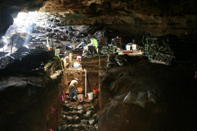 Geochemical analysis of sediments from Hall's Cave in Texas suggest supposed comet signatures are actually evidence of volcanic activity. Photo by Michael Waters/Texas A&M University