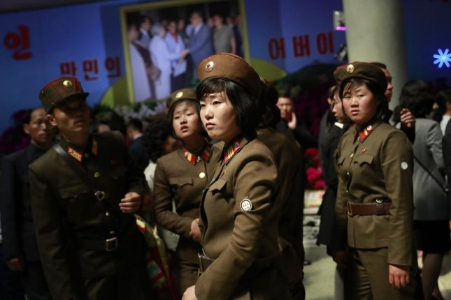 For North Korean female soldiers, an unexpected pregnancy results in dishonorable discharge, according to a South Korean press report. File Photo by How Hwee Young/EPA