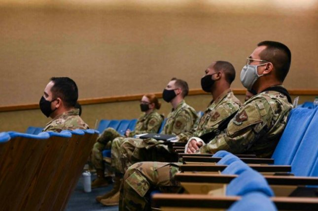 Airmen at Kirkland Air Force Base, N.M., attend an accountability workshop in December, part of a branch-wide effort to improve the culture and climate of the Air Force. Photo courtesy of the U.S. Defense Department