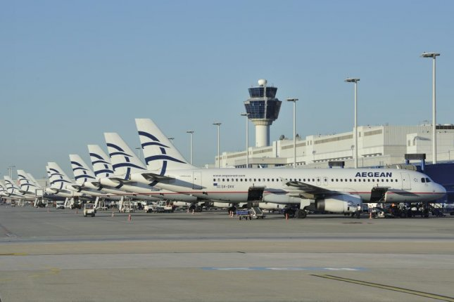 Greece's Aegean Airlines will operate flights between Greece and the Republic of North Macedonia twice-weekly with the first flight between the countries taking off Thursday after a 12 -year blockade. Photo courtesy of Aegean