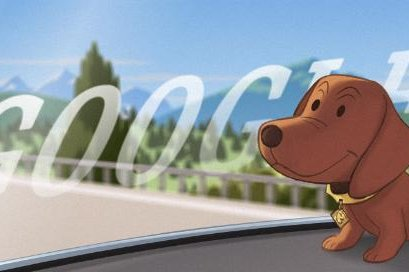 Google is celebrating the dachshund bobblehead which originated in Germany. Image courtesy of Google