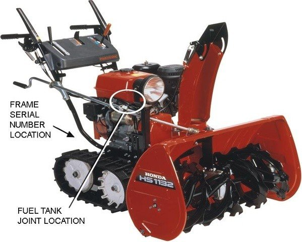 How to tell if your snowblower is one of the faulty models, courtesy of the U.S. Consumer Product Safety Commission.