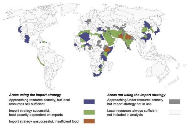 More and more people are reliant on imported food, research show. Photo by Aalto University