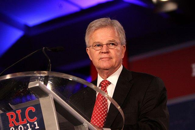 Former Gov. Buddy Roemer speaking at the Republican Leadership Conference in New Orleans, La., on June 18, 2011. File Photo by Gage Skidmore/Wikimedia Commons