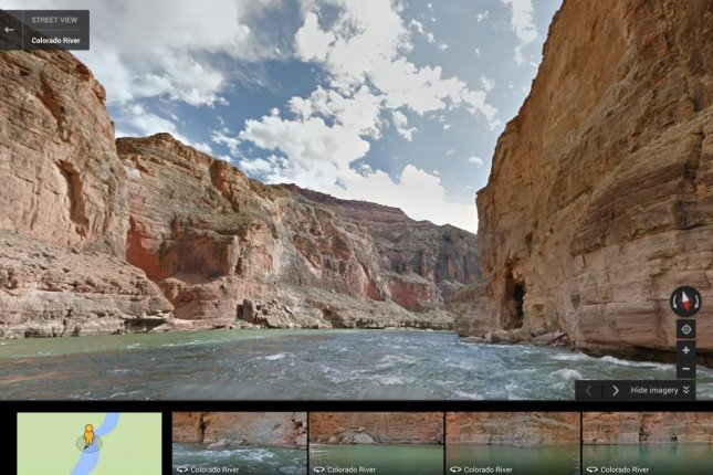 Google Maps Launches River View Of Grand Canyon Video Upi Com