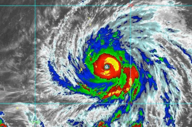 Super Typhoon Yutu killed at least one person in the Northern Mariana Islands, a U.S. commonwealth. Image courtesy NOAA