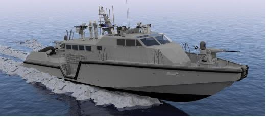 An MK VI patrol boat ordered by the U.S. Navy. (Safe Boats International)