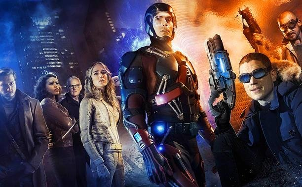 Promotional poster for DC's Legends of Tomorrow. The CW has revealed the premiere date for the new superhero show along with a new trailer. Photo courtesy of The CW/Twitter