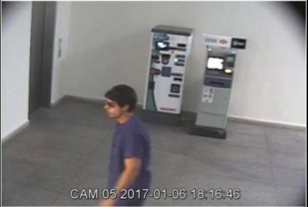 About 24 hours after releasing security footage and images of the man who shot U.S. diplomat Christopher Ashcroft, Mexican officials announced they had arrested someone and would be deporting him back to the United States. Photo courtesy U.S. consulate