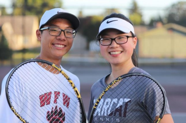 Siblings Joelle and Joseph Chung challenged a rule that does not provide religious accommodations allowing them to play in state championships while also keeping their Sabbath. Photo courtesy of Becket Fund for Religious Liberty