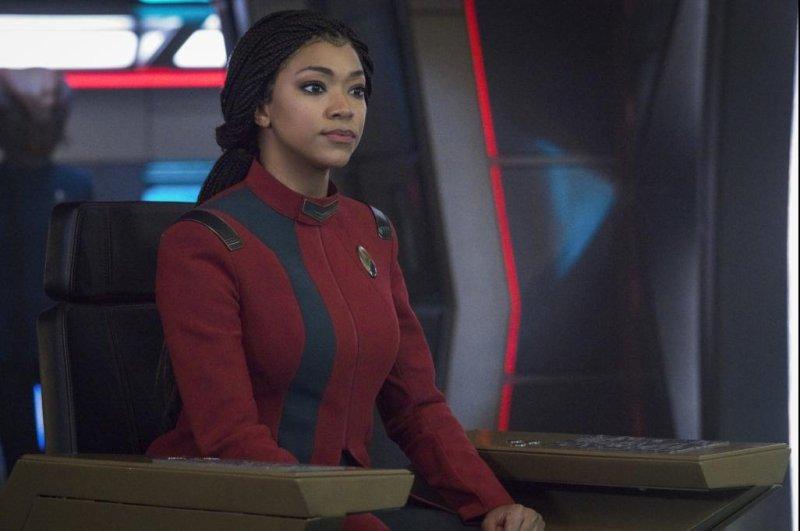 Captain Burnham (Sonequa Martin-Green) embarks on Season 4 of Star Trek: Discovery. Photo courtesy of Paramount+