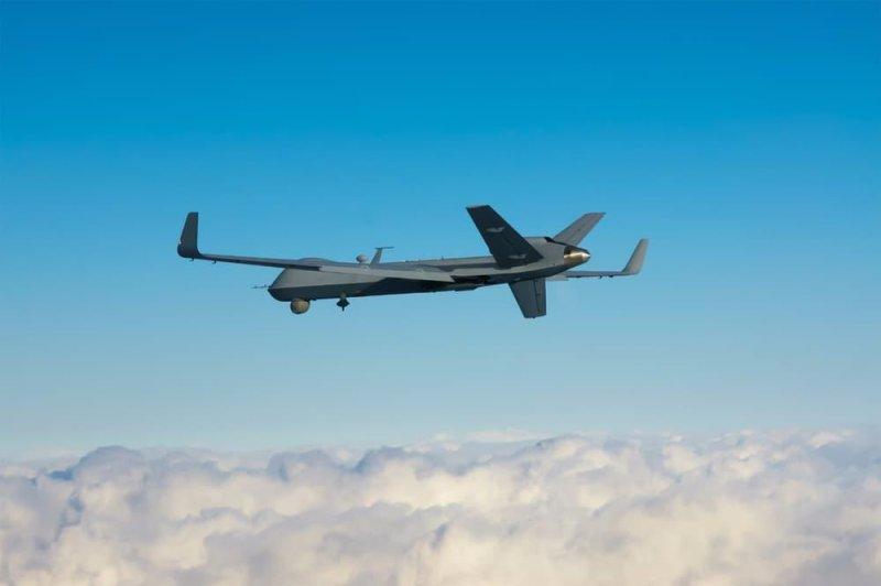 Longer wings help new Predator B Big Wing achieve longer flight endurance. Photo courtesy GA-ASI