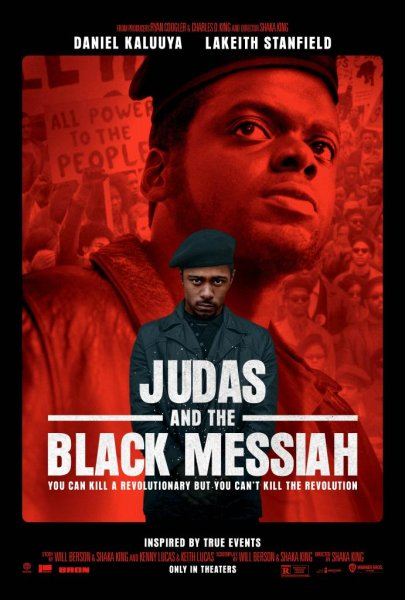 Judas and the Black Messiah, a new film starring Daniel Kaluuya and Lakeith Stanfield, centers on Fred Hampton and the Black Panther Party in the 1960s. Photo courtesy of Warner Bros. Pictures