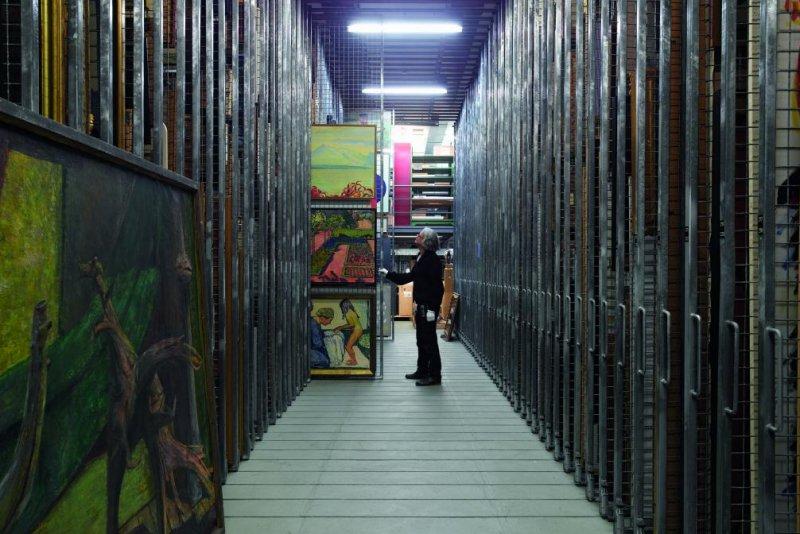 Kustenmuseum Bern. UPI/Handout
