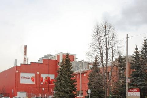Campbell Soup announced Wednesday it will close its Toronto plant, which has been in operation since 1931. Photo by Campbell Soup/BusinessWire