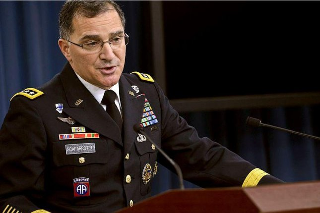 Gen. Curtis Scaparrotti advised the Senate Armed Services Committee on Tuesday that additional maritime military capability is needed in Europe to counter potential threats from Russia. File Photo by Glenn Fawcett/U.S. Defense Department