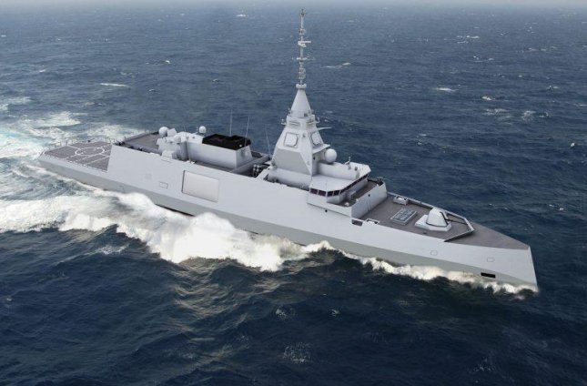France has ordered five BELH@RRA frigates from DCNS, which are billed as designed for digital natives because their digital technologies and systems are designed to be incrementally upgraded to maintain equipment and systems for the next 40 years. Photo courtesy of DCNS