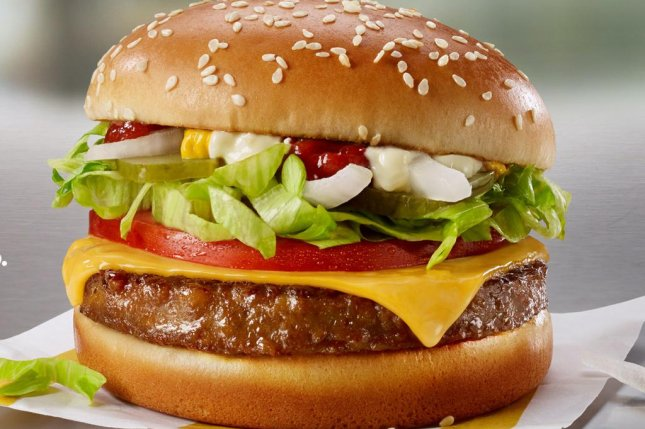 McDonald's announced Monday that the restaurant chain would be rolling out an in-house developed plant-based meat patty called McPlant next year. Photo courtesy of McDonald's