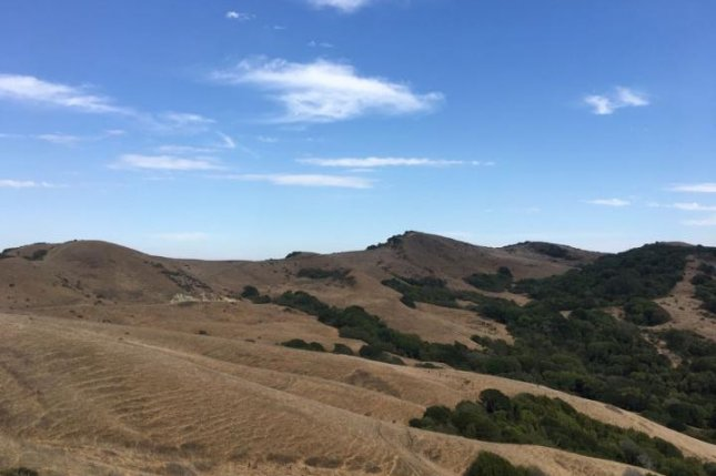 New research suggests drylands -- like this arid landscape in California -- are likely to only get marginally drier as a result of climate change. Photo by Columbia Engineering