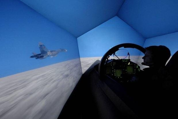 An advance in training simulators allows U.S. military pilots around the world to link for training purposes, Lockheed Martin announced on Wednesday. Photo courtesy of Nellis AFB/U.S. Air Force