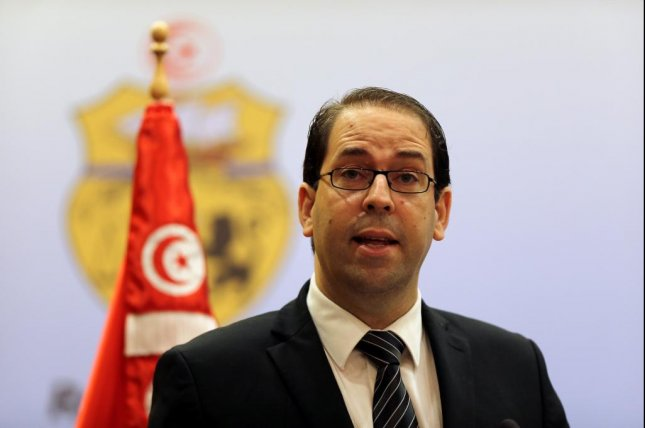 Youssef Chahed has served as Prime Minister of Tunisia since last year. File Photo EPA/Mohamed Messara