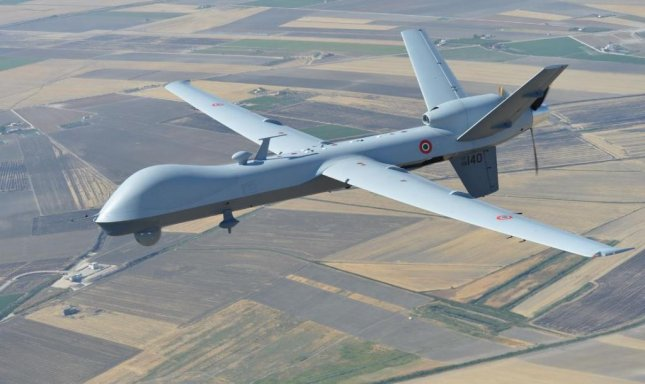 Britain and Belgium, each acquiring the MQ-9B Reaper drone, agreed on Tuesday to work collaboratively on training and interoperability. Photo courtesy of General Atomics