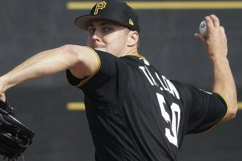 Pirates' Taillon solid in return following cancer surgery