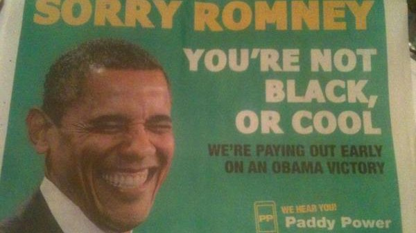 Irish betting on us election collingwood cup betting on sports