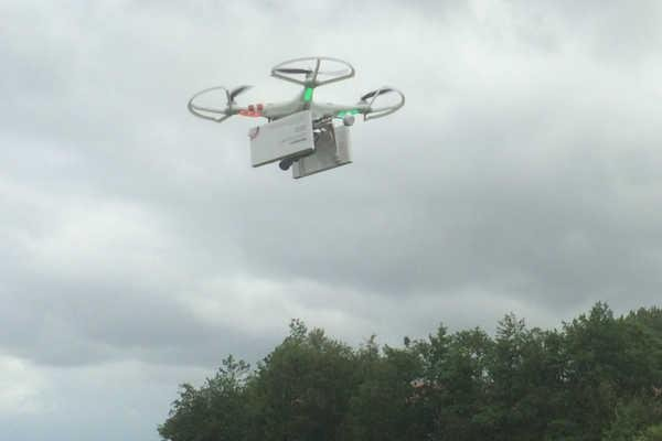 A drone carrying abortion medication will travel to Poland on Saturday. Photo courtesy of Women on Waves.