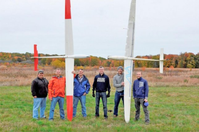 The Naval Research Laboratory partnered with the Air Vehicle Intelligence and Autonomy Lab at Pennysylvania State University to launch 23 UAV flight tests over a nine-day period. Photo courtesy of the U.S. Naval Research Laboratory