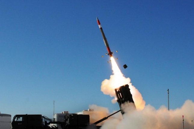 U.S. Army leadership is asking lawmakers to fund procurements for more munitions such as Patriot Advanced Capability-3 missiles. Pictured, a PAC-3 missile is fired from a MEADS launcher. U.S. Army photo by John Hamilton
